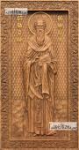 Василий Великий - резная икона артикул 25043-01