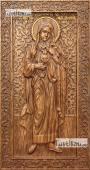 Мария Магдалина - резная икона, артикул 25074-01