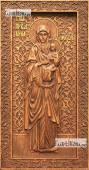 Анна Праведная мать Богоматери - резная икона артикул 25112-01