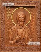 Андрей Первозванный апостол - фотография резной иконы артикул 25003-01