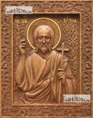 Иоанн Креститель живописный стиль - фотография резной иконы артикул 25032-03