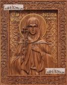Анастасия Римская - фотография резной иконы артикул 25088-01