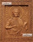 Артемий - фотография резной иконы артикул 25089-01