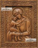 Взыскание Погибших Божия Матерь - фотография резной иконы артикул 26015-01