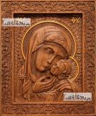 Касперовская Божия Матерь - фотография резной иконы артикул 26023-01