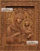 Вифлиемская Божия Матерь - фотография резной иконы артикул 26029-01
