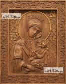 Утоли Мои Печали Божия Матерь - фотография резной иконы артикул 26034-01