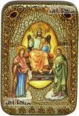 Царь Царем (Царь Славы), икона подарочная в футляре, 10х15 см