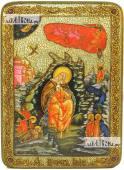 Илия Пророк в пустыне аналойная подарочная икона