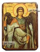 Архангел Михаил (греческий стиль), состаренная икона, артикул 60233
