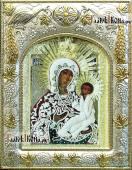 Грузинская Божия Матерь (в Раифской пустыни), икона в ризе печатная