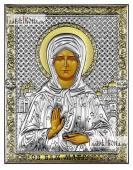 Матрона Московская икона 14х18 см без эмали