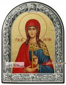 Кристина мученица икона с рамкой