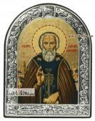Сергий Радонежский икона с рамкой