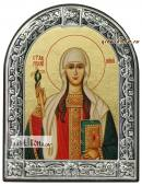 Нина Равноапостольная икона с рамкой
