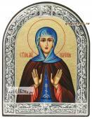 Евгения Римская икона с рамкой