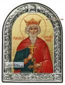 Вячеслав Чешский икона с рамкой