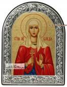 Клавдия Коринфская икона с рамкой