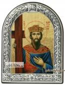 Константин Равноапостольный икона с рамкой