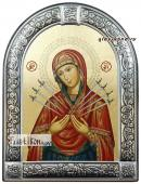 Семистрельная Божия Матерь икона с рамкой