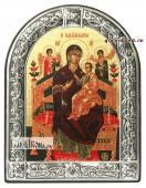 Всецарица Божия Матерь икона с рамкой