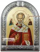Николай Чудотворец икона с рамкой