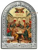Тайная Вечеря икона с рамкой