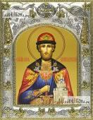 Дмитрий Донской поясной икона в ризе артикул 42809