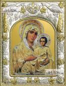 Иерусалимская Божия Матерь, икона в ризе, артикул 42811