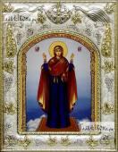 Нерушимая стена Божия Матерь икона в ризе артикул 42820