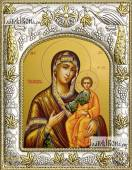 Смоленская Божия Матерь икона в ризе артикул 42829