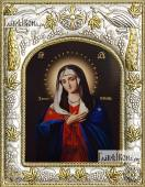 Умиление Божия Матерь икона в ризе артикул 42833