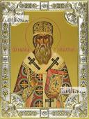 Макарий Московский, икона в посеребренной ризе, 18х24 см.