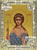 Надежда Римская, икона в посеребренной ризе, 18х24 см.