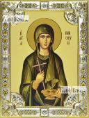 Параскева Римская икона в посеребренной ризе 18х24 см