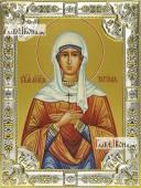 Татиана Римская, икона в посеребренной ризе, 18х24 см.