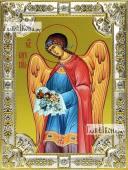 Варахиил Архангел, икона в посеребренной ризе, 18х24 см.
