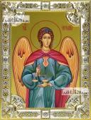Иеремиил архангел, икона в посеребренной ризе, 18х24 см.