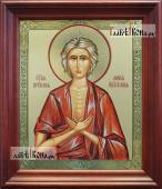 Мария Египетская аналойная икона в темном киоте