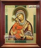 Донская Божия Матерь (ярославский стиль), аналойная икона в темном киоте