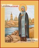 Анна Кашинская, икона печатная, артикул 90091