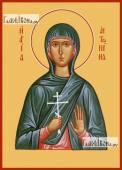 Антонина Никейская икона на дереве печатная