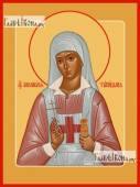 Аполлинария Тупицына, икона печатная на дереве