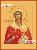 Виктория Ника Коринфская - икона на дереве печатная
