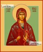 Ирина Коринфская икона на дереве печатная