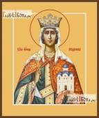 Людмила Чешская икона на дереве печатная