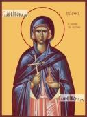 Марфа Вифанская, мироносица, икона на дереве печатная