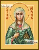 Миропия Хиосская, икона на дереве печатная