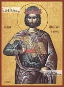 Анастасий Персиянин икона на дереве печатная