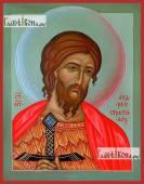 Андрей Стратилат, икона на дереве печатная